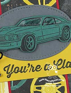 You're A Classic Garage Card PP430